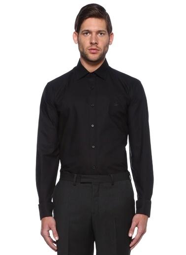 Beymen Club Uzun Kollu Klasik Gömlek Siyah